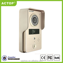 ACTOP New Night Vision wifi android door phone with ID card unlock