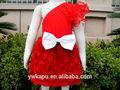 novo estilo moda linda vestidos de natal para as crianças com o partido