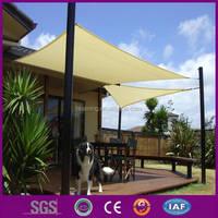 HDPE Garden sun shade sail- versatile patio sun shade sail with UV 16*16*16 squire leader manufacturer