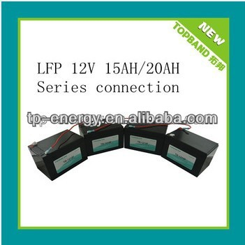 Hot Selling Cheap DC12V Battery 4pcs in Series(48V20Ah) with BMS