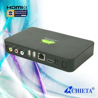 Dual Core System Google Android WIFI TV Box with 2USB HDMI