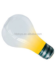 PVC inflatable glowing light bulb for advertising