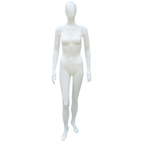 Cheap full body female abstract faceless head female mannequin on sale