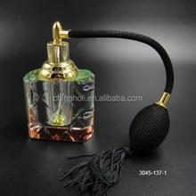 Crystal perfume bottle rainbow color with air bag