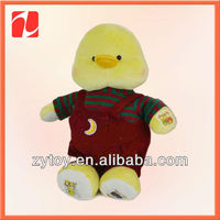 most marketable super cute plush duck toy stuffed animal in china shenzhen OEM