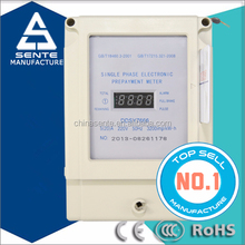 Good quality of DDSY7666 type single phase electronic turn off electric active working of prepaid electricity meter
