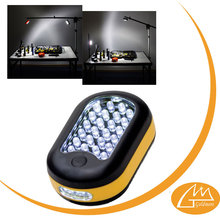 over ten years experience 3*AA battery powered emergency 24+3 auto led work light for promotion