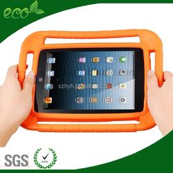 Colors kids safe Eva foam case for ipad mini,eva foam material 7inch tablet case for kids