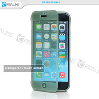 highly protective waterproof pc case cover and soft tpu phone case for iphone 6 6s