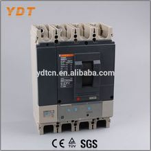 YDT china electrical 400amp mccb molded case circuit breaker, 400 amp circuit breaker, automatic circuit breaker