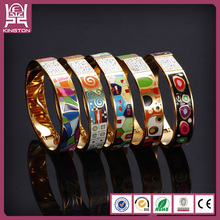 bangle enamel cloisonne bracelets latest design girls gold bangles