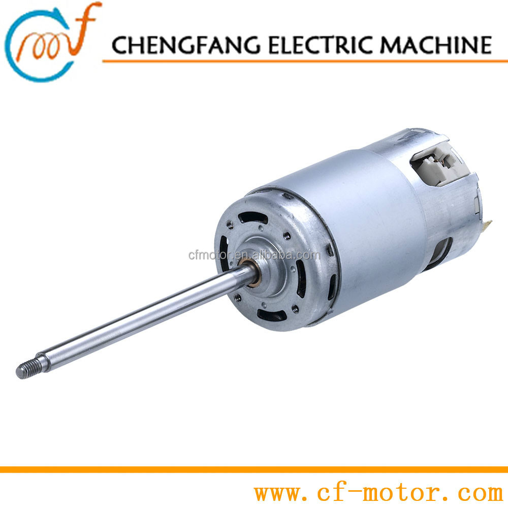 high torque low rpm 120v electric dc motor 500 watts rs