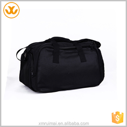 Manufacturer wholesale foldable designer black tote travel bag cheap