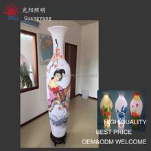 big RGB vase ndisposable flower vase hanging plastic vase commercial decoration vase