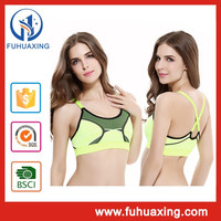 Hot Hot Girl Sxe Photo Cross Back Sport Bra With Removable Bra Cups