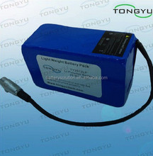 Over-charge Durable Rechargeable Lithium Battery Pack 25.9V 10Ah For Powakaddy / Motocaddy