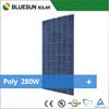TUV UL IEC certified poly solar panel 280w poly solar panel