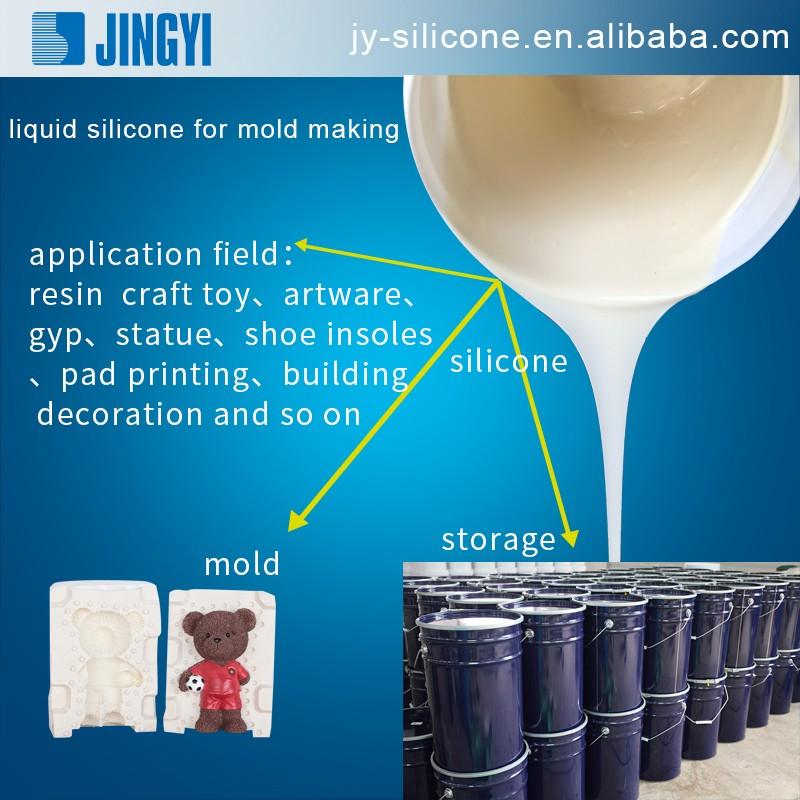 caoutchouc de silicone liquide pour le pl tre niches d mes de moulage catalyseur d 39 tain s rie. Black Bedroom Furniture Sets. Home Design Ideas