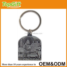 London custom metal keychain manufacturers in china