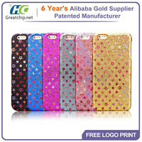 For apple iphone6 Case, fashion Cover glitter stars bling tpu case Mobile Phone Case