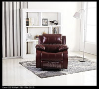 2015 Living room chairs electric recliner chairs synthetic leather chair with competitive price