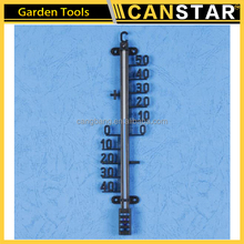 High quality plastic and metal garden thermometer thermometer straight