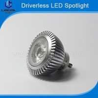 Environment friendly 3w Dimmable gu10 Samsung AC cob Driverless LED lamp outdoor led spotlight