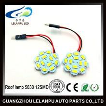 5630 12SMD led lamp bulbs for cars