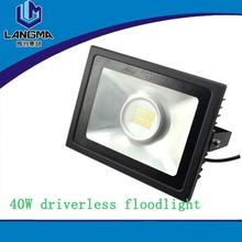 high brightness ip66 waterproof COB LG3030 SMD 15W 30W 40W led ac flood light