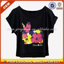 Camisas de mujer impresos( ycs-015)