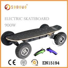 Power electric uncut skateboard decks for girls E-skateboard