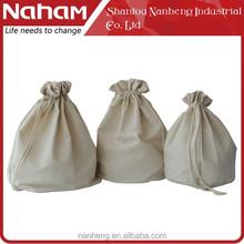 Naham Herringbone Twill Storage Bag Drawstring Bag Laundry Bag