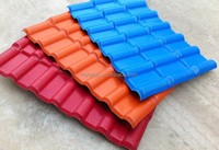 Ultra weathering ASA coated spanish style synthetic resin roof tile