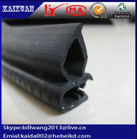 customized rubber extrusion cabinet edge trim/cabinet rubber seal