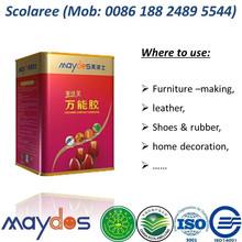 Maydos Odorless Strong Bonding Chloroprene Rubber Sulotion Neoprene Contact Adhesive