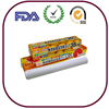 Food grade plastic wrap with PET blade and colour box