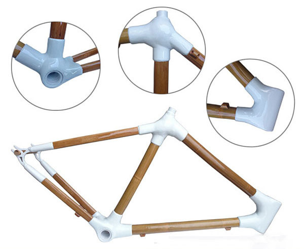 Super Hardness Bamboo Road Bike Frame Made In China Special Bamboo ...