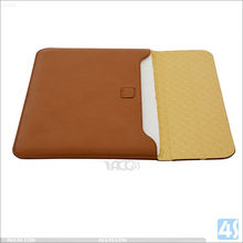"""For Macbook Air Leather Sleeve With Premium PU Leather, Cheap Price Leather Sleeve for Macbook Air 12"""""""