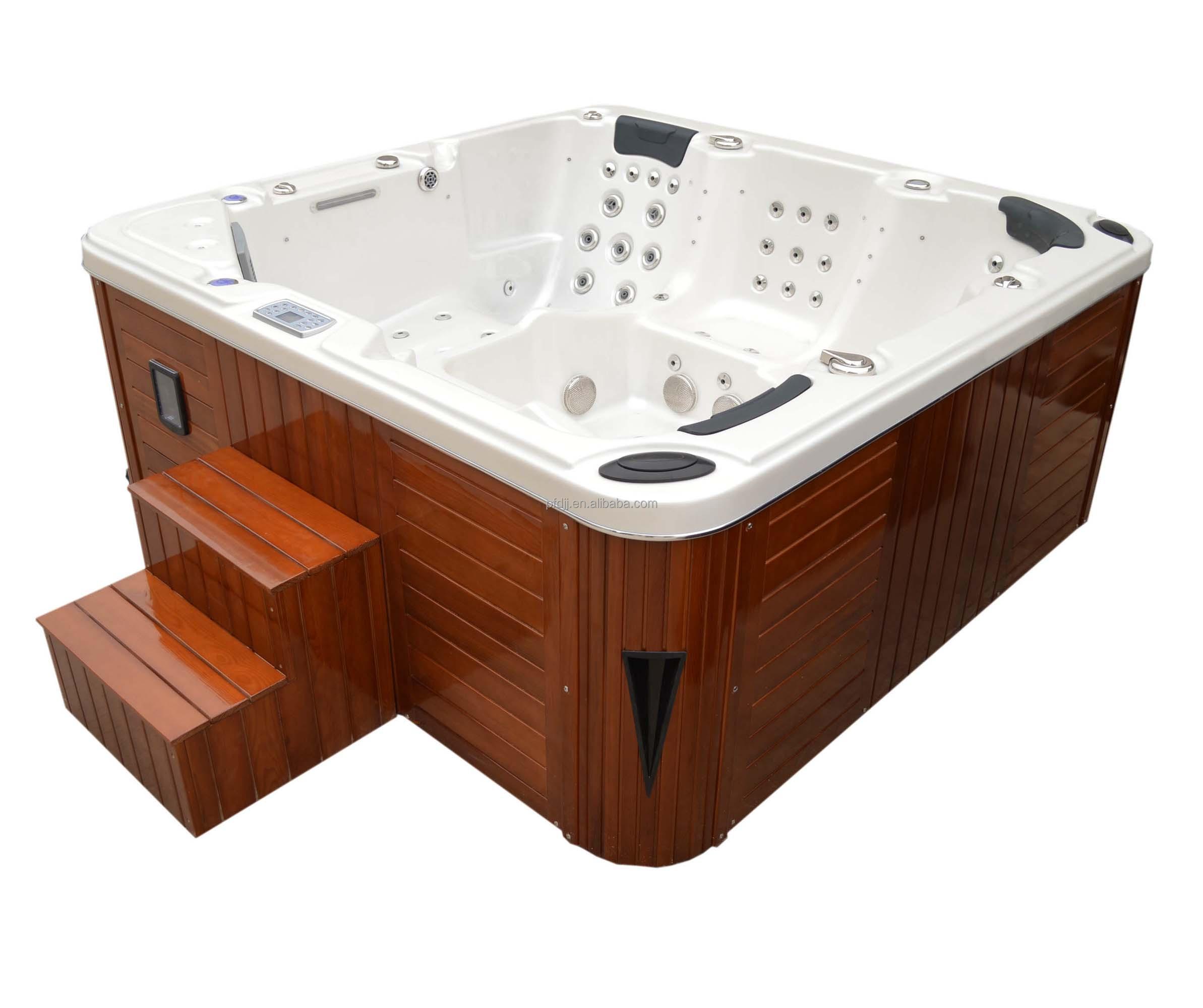 fabrik lieferant acryl 5 personen hydromassage badewanne, acryl, Gartengerate ideen