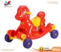 diseño de dibujos animados para niños de plástico del coche swing scooter niños paseo en el coche