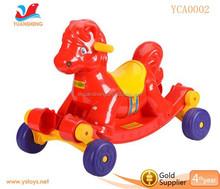 Cartoon design children plastic swing car scooter kids ride on car