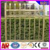 Level spear top tubular iron fence railing