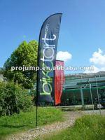 2012 Portable advertising beach flagpoles