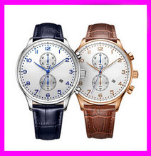 2015 best luxury quartz wrist watch brand watches men stainless steel watches