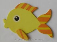 wholesale art minds decorative wood fish for hobby use