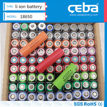 18650 rechargeable 3.7v lithium ion battery with high quality