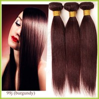 Wholesale Color 99J Hair Weave Red Braiding Hair for Women