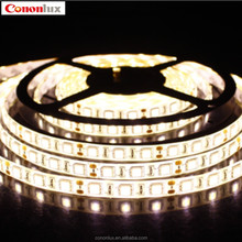 Flexible low voltage led light strip smd5050 3000k led strip