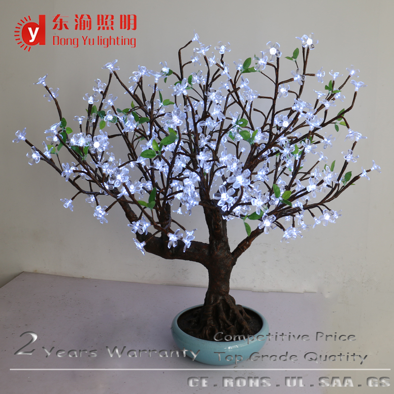 Factory Direct Artificial Flowers Trees Led Light Display Flower Lighted Tree For Home Decor