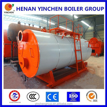 World best wns industry 3 pass heat boiler, natural gas steam generator made in China
